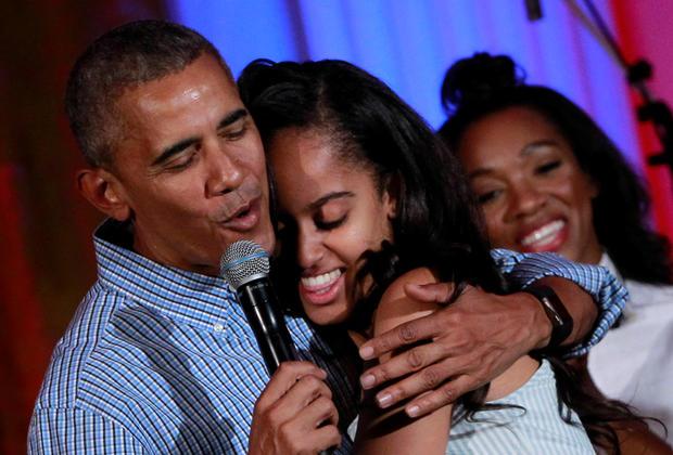 Obama revela que chorou quando deixou filha na universidade