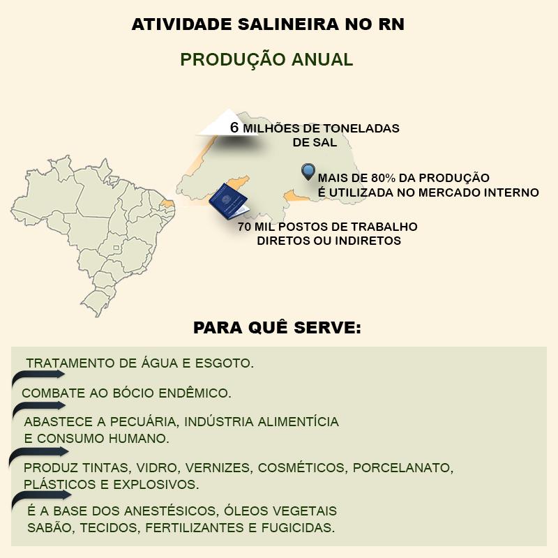 ATIVIDADE SALINEIRA NO RN