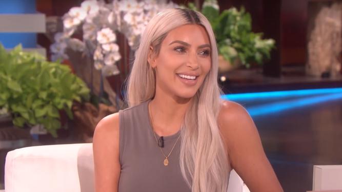 Kim Kardashian revela o sexo do bebê que espera