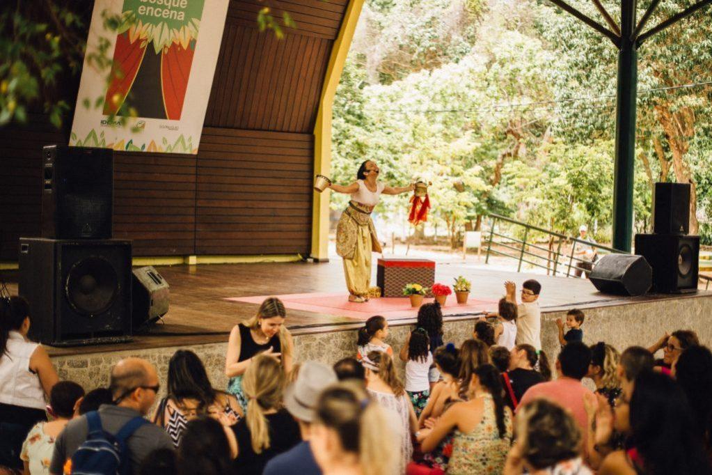 Domingo recheado de atrações no Parque das Dunas