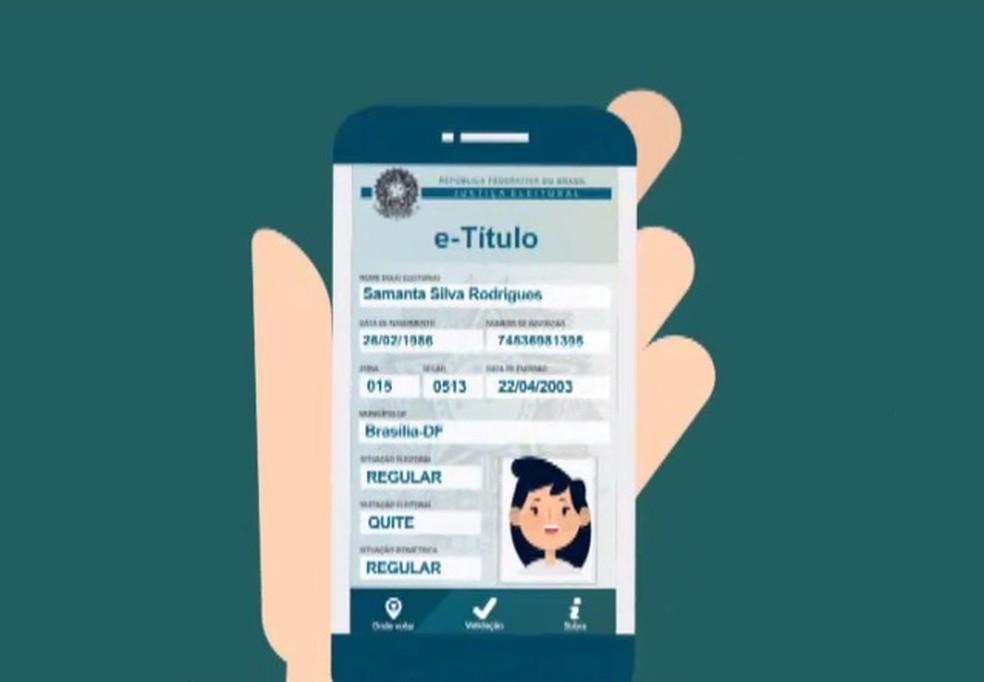 Eleitor poderá usar aplicativo no lugar do título de papel