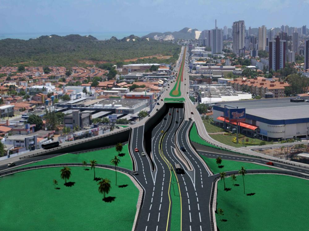 Readequação da Roberto Freire vai custar R$ 107 milhões
