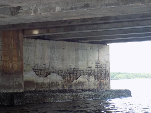 Resultado de imagem para Ponte de Igapó rn sofre perigo de cair