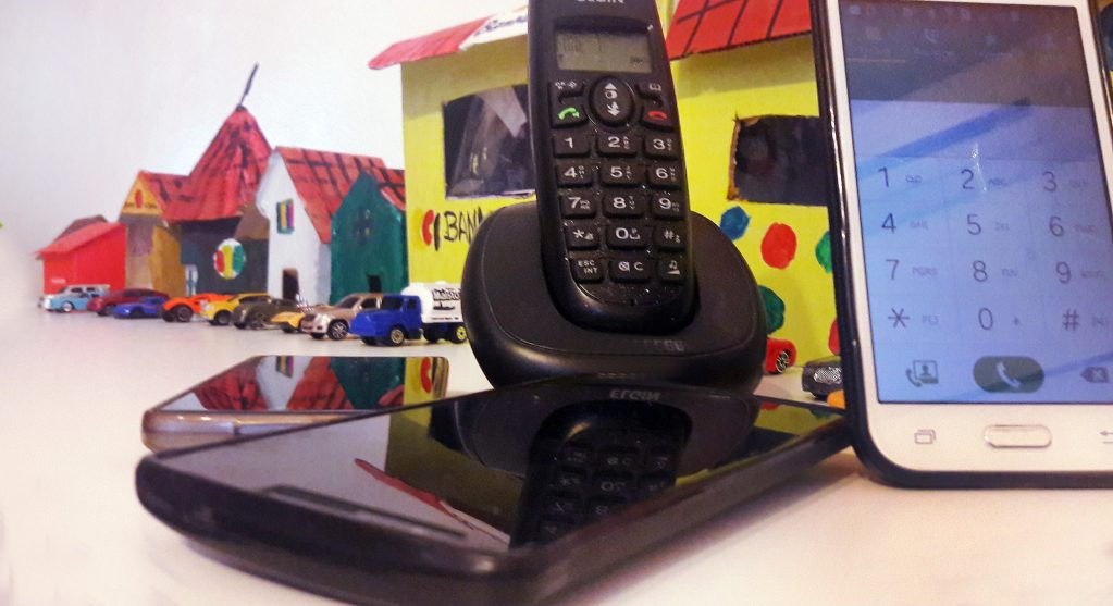 ligações telefone fixó celular móvel