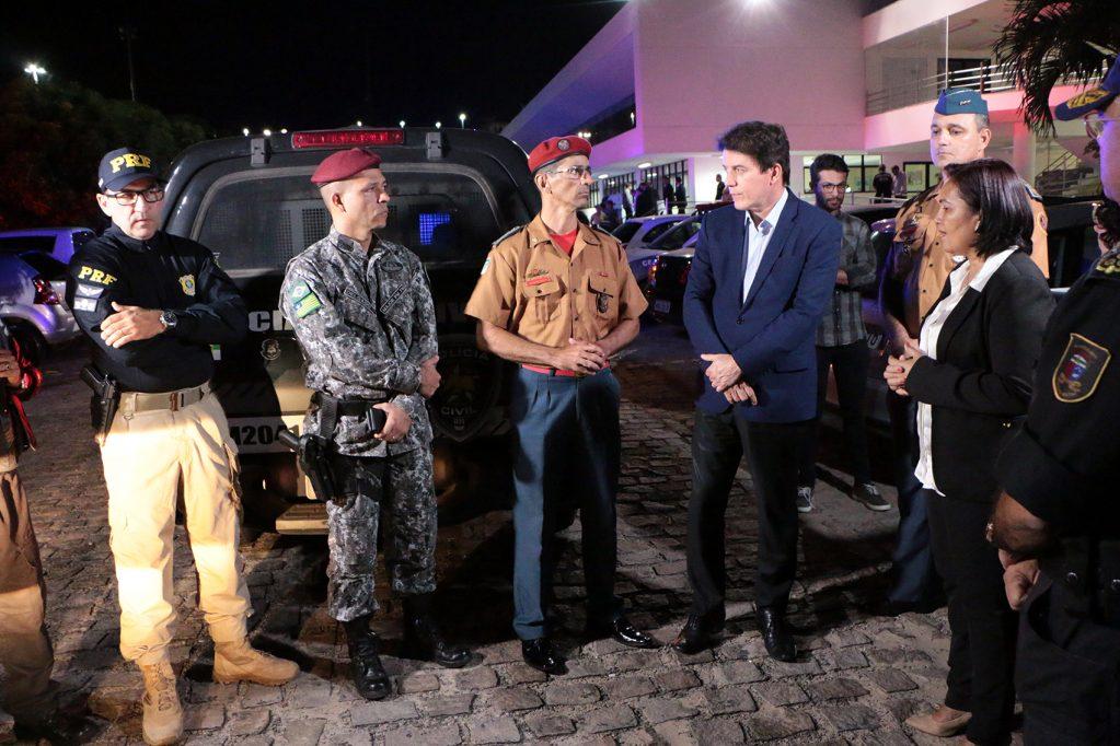 """Governador dá início ao """"Ronda Integrada"""" em Natal"""
