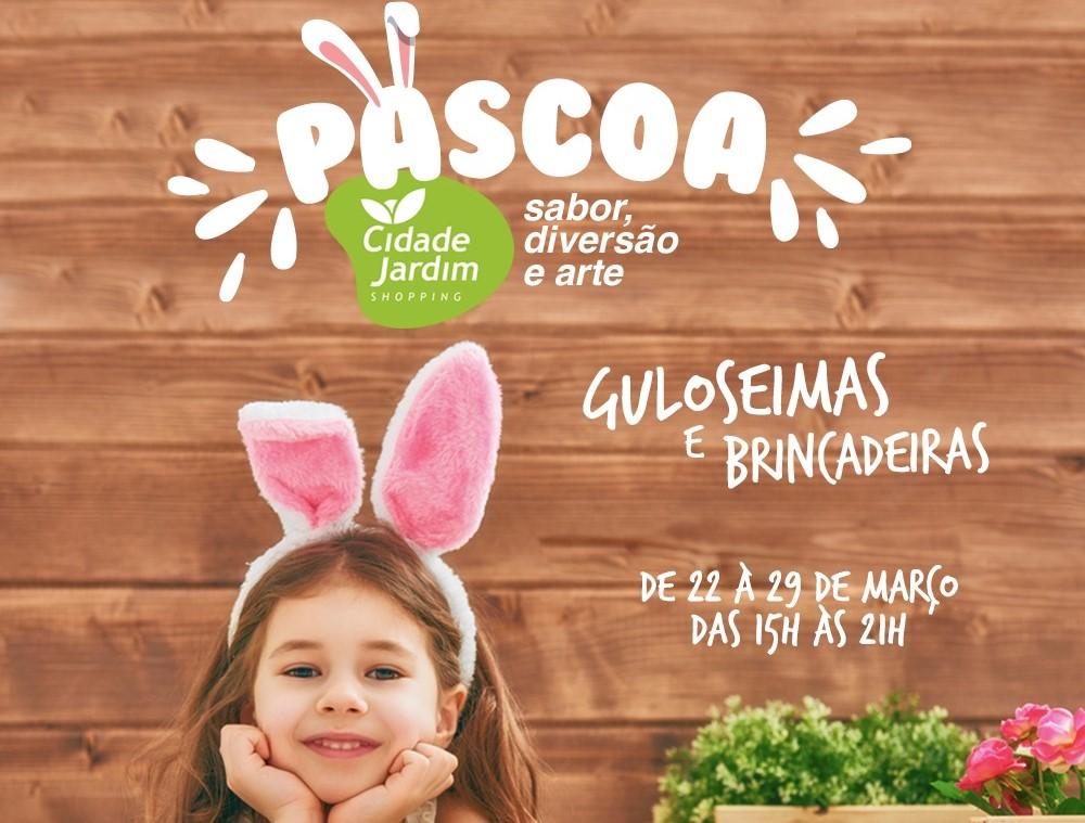 Páscoa com sabor, diversão e arte no Shopping Cidade Jardim