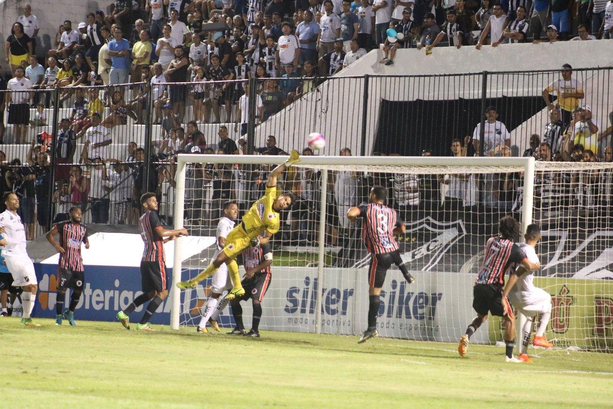 ABC empata com o Força e Luz no estádio Frasqueirão