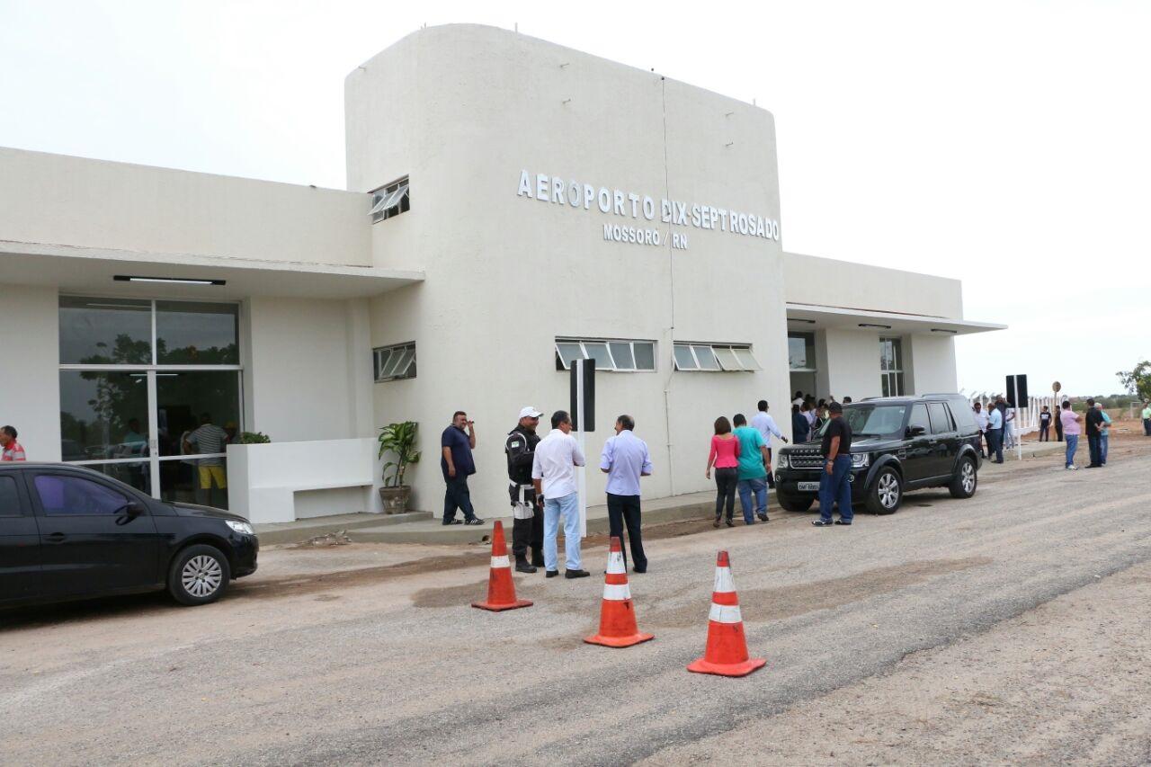 Aeroporto de Mossoró é liberado para voos comerciais