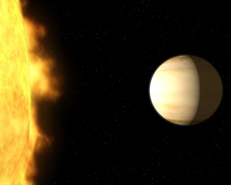 NASA encontra água em um planeta fora do Sistema Solar!