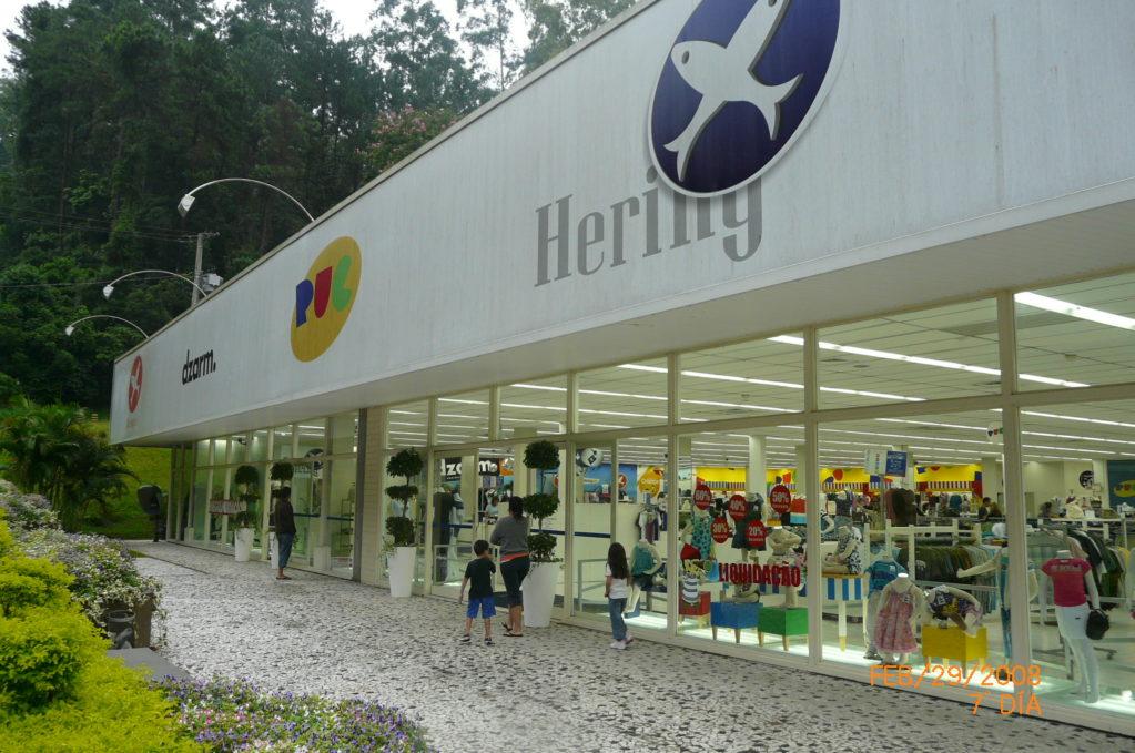 fábrica da Cia Hering