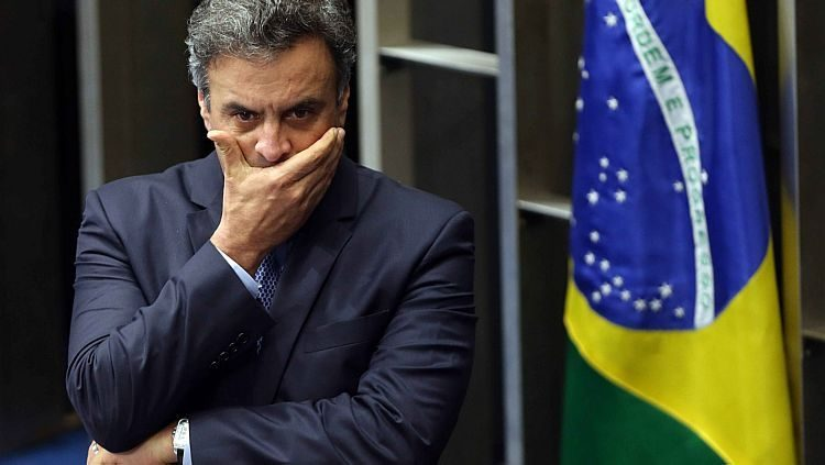 STF marca julgamento de denúncia contra Aécio Neves