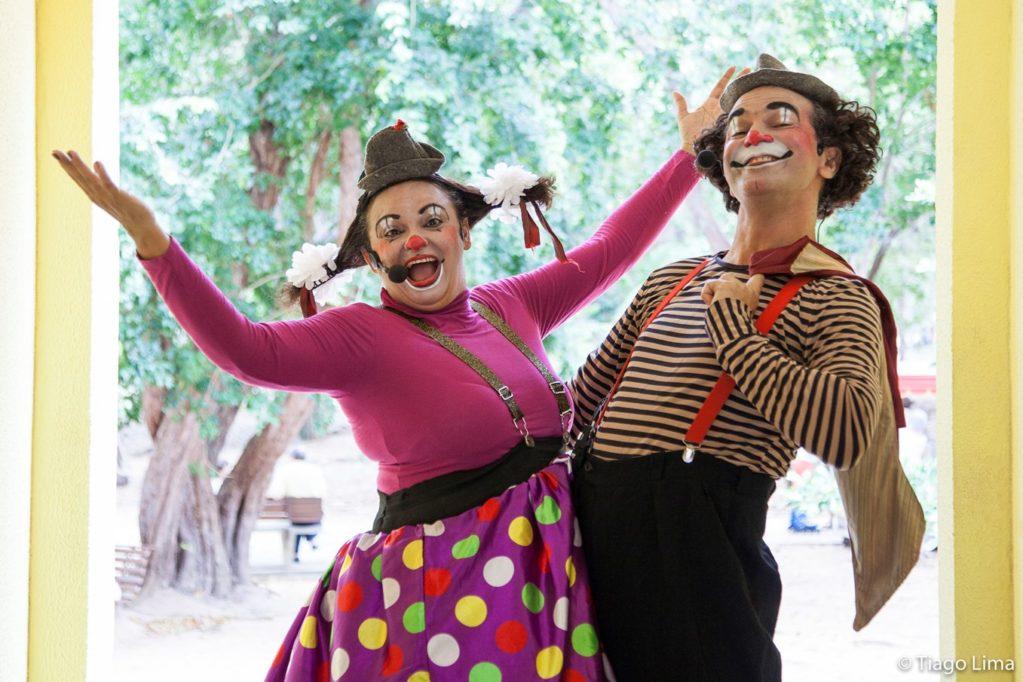 'Domingo na Arena' e a magia do Circo Grock