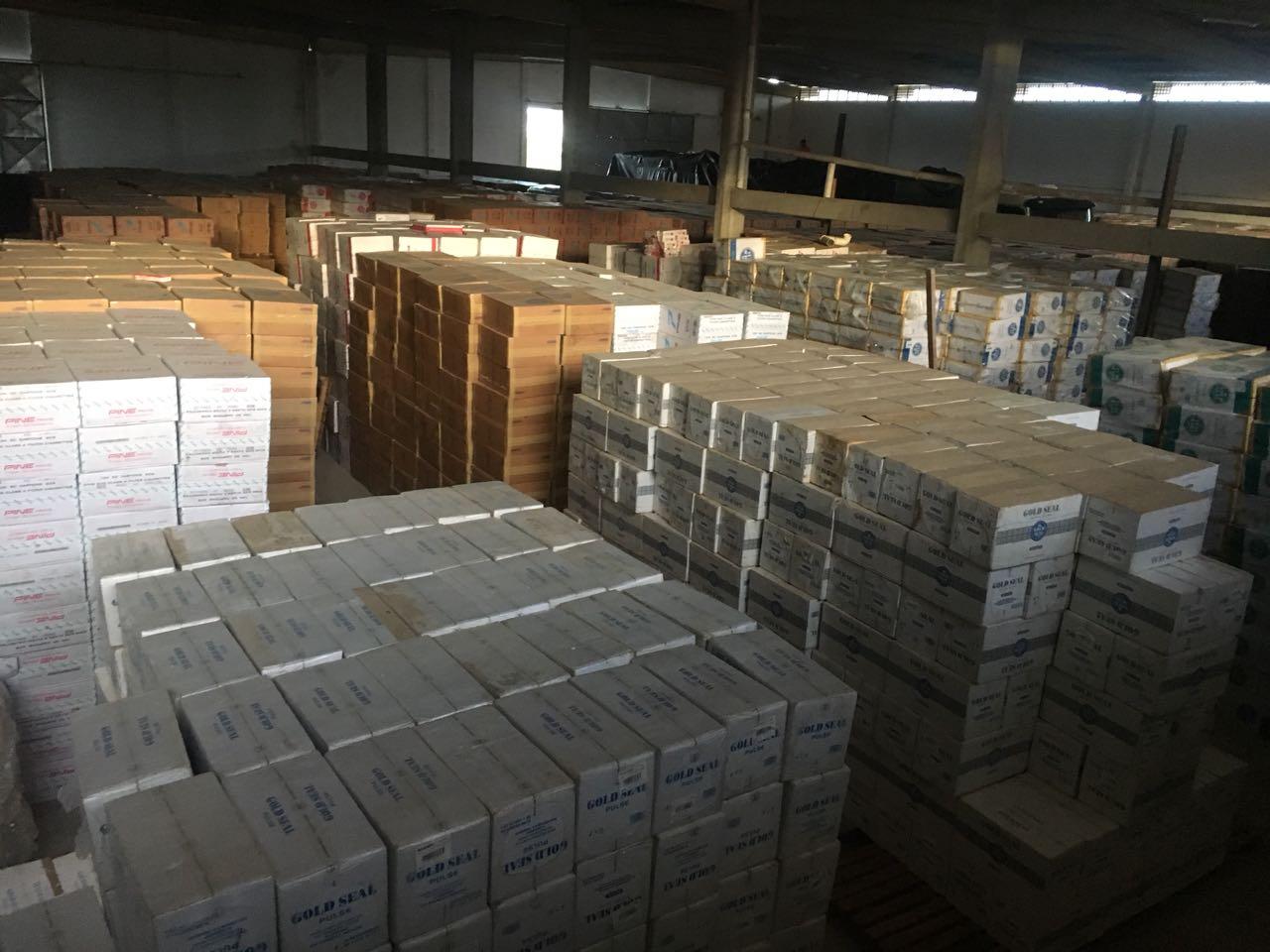 Polícia Civil apreende carga avaliada em R$ 30 milhões na cidade de São José de Mipibu