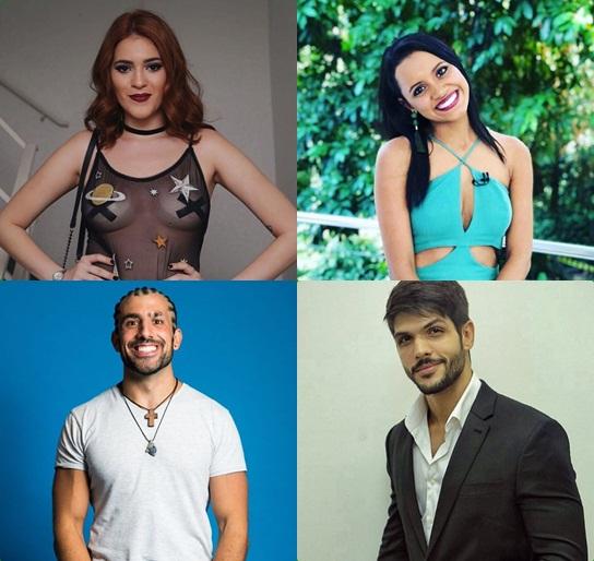 Ex-BBBs Ana Clara, Gleici, Kaysar e Lucas concorrem no BreakTudo Awards 2018 para Reality Star