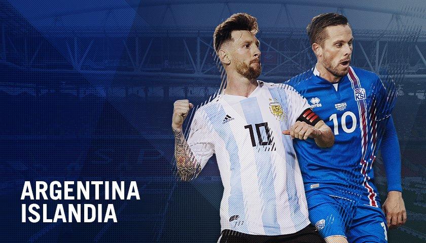 Argentina x Islândia: onde assistir ao vivo o sexto jogo da Copa do Mundo de 2018