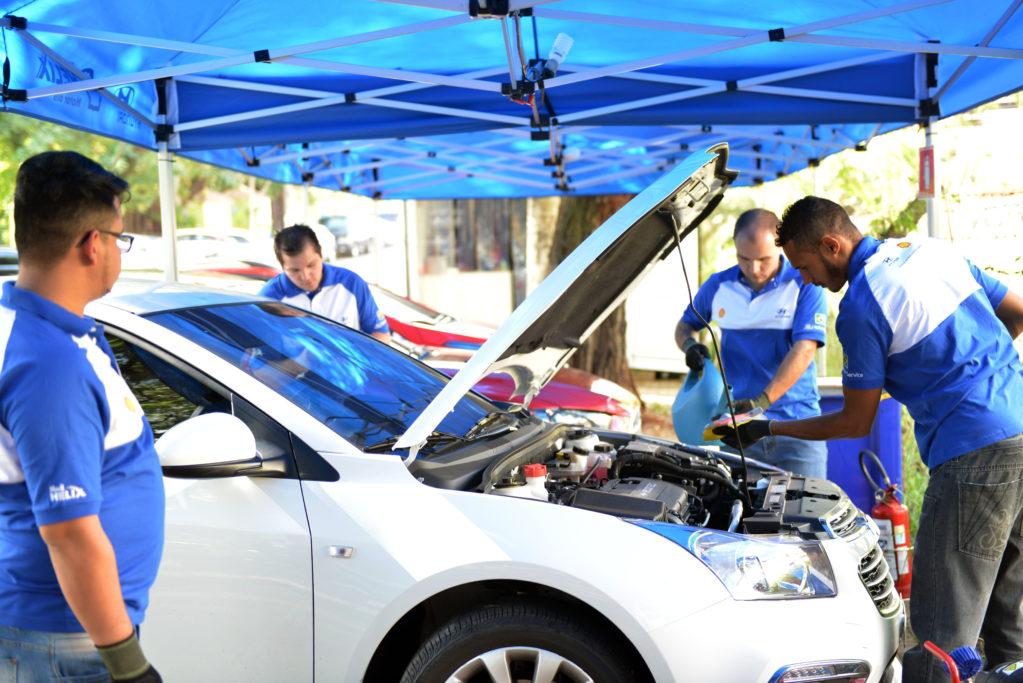 Hyundai realiza inspeção veicular gratuita em todo o Brasil