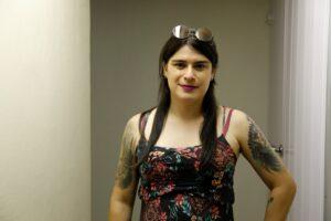 Melanie Matos utiliza o serviço de terapia vocal da UFRN há um ano e meio