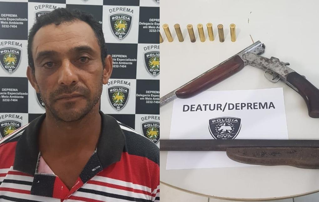 """Polícia Civil prende suspeito de ter """"matado cadela a tiros"""" em Monte Alegre (RN)"""