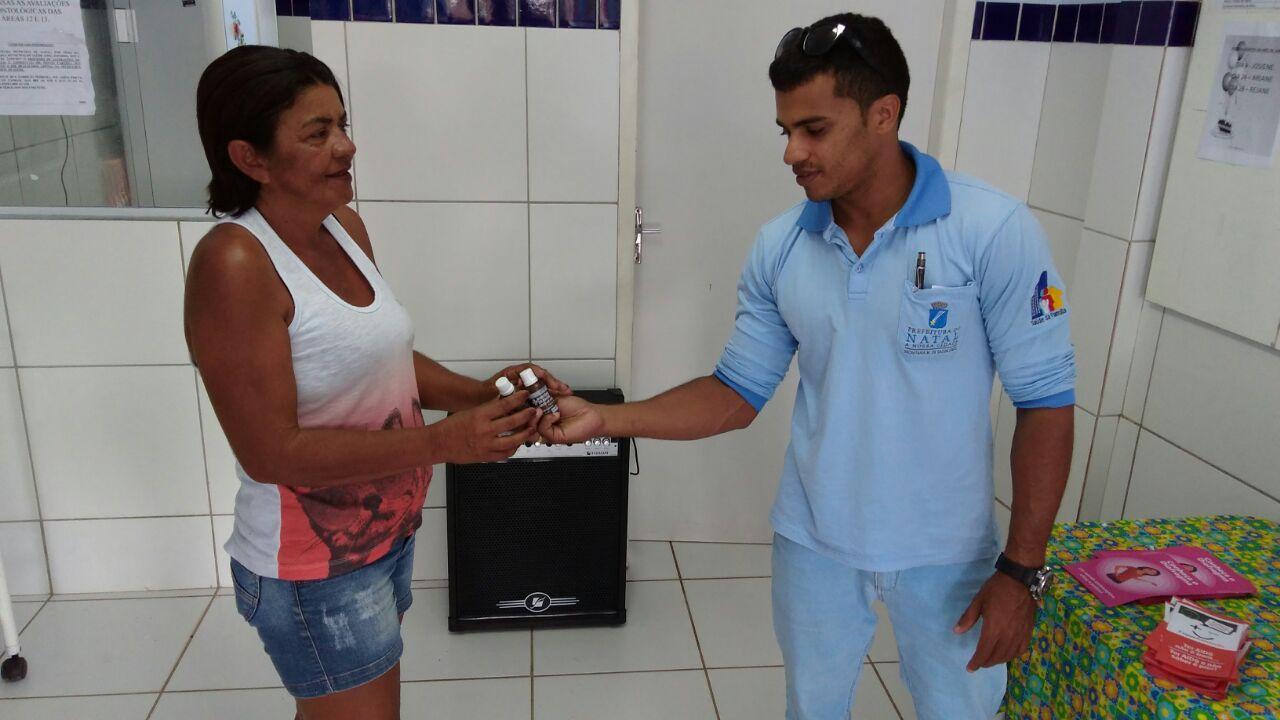Secretaria de Saúde intensifica distribuição de hipoclorito de sódio em Natal
