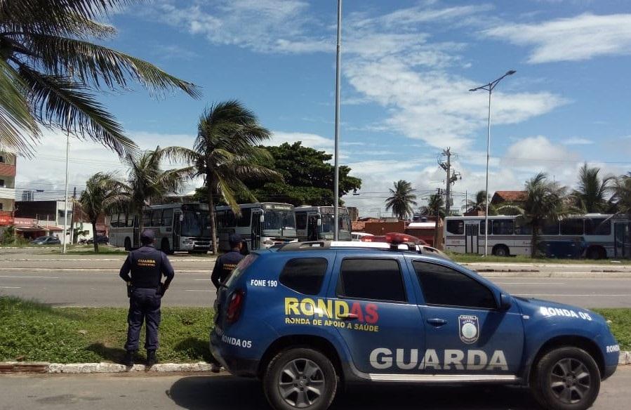 Após ataques, segurança é reforçada em terminais de ônibus de Natal