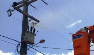 cabos da rede elétrica cosern