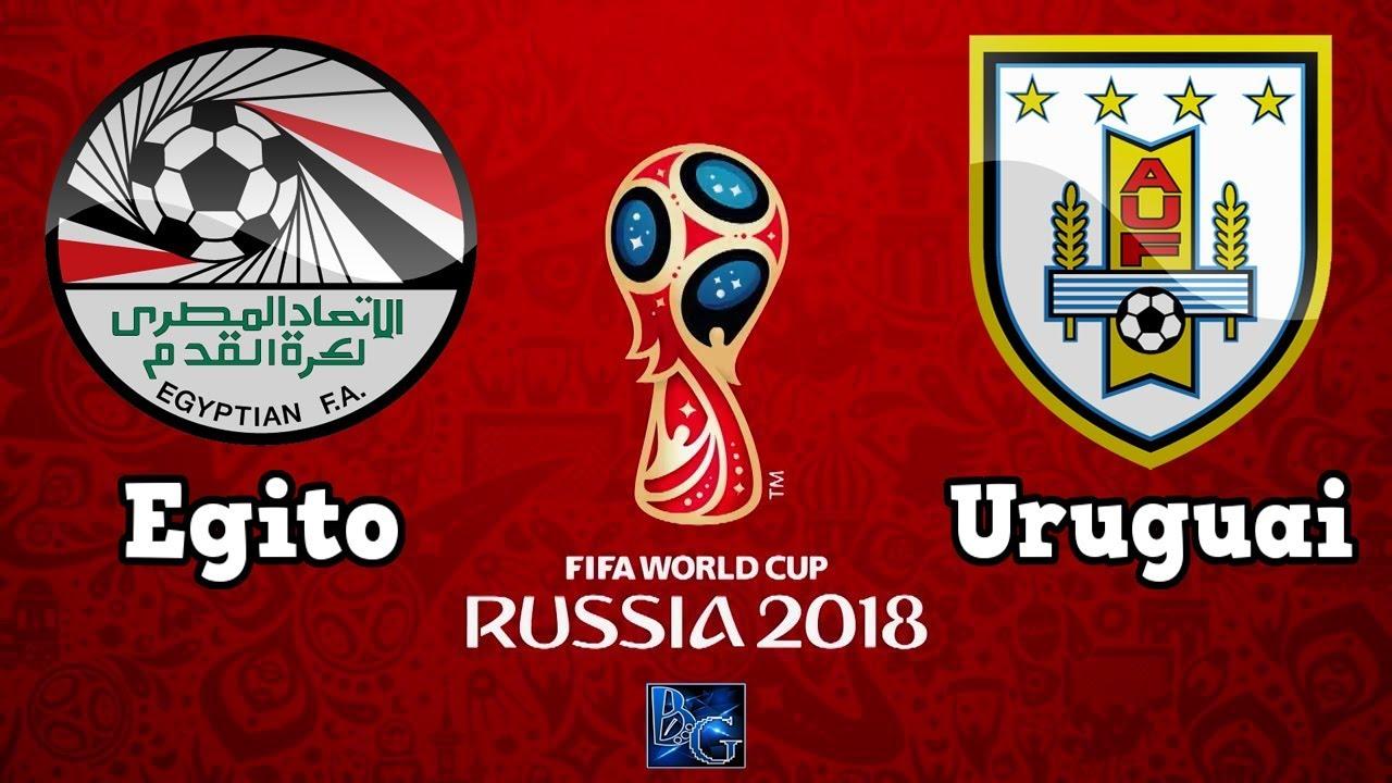 Egito x Uruguai: onde assistir ao vivo o segundo jogo da Copa do Mundo de 2018