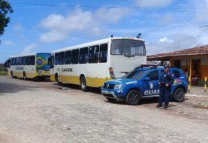 guarda municipal de natal ônibus