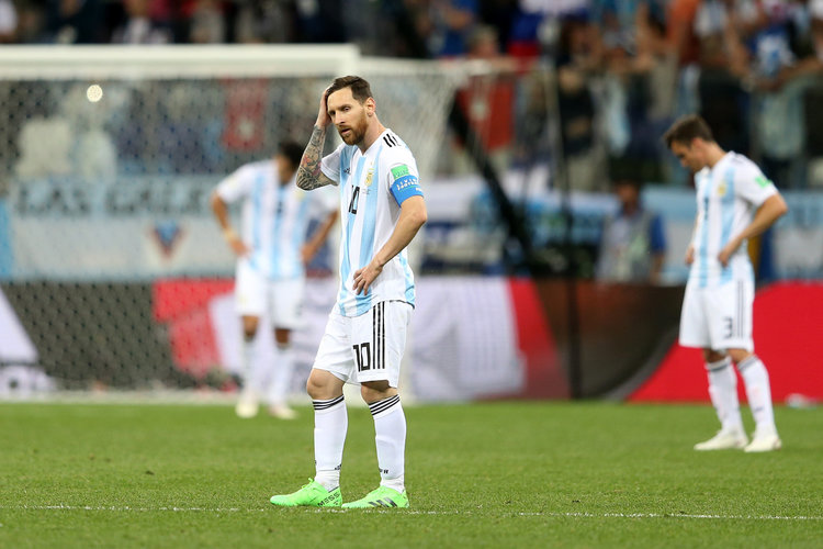 Após derrota, fã de Messi desaparece e deixa carta suicida