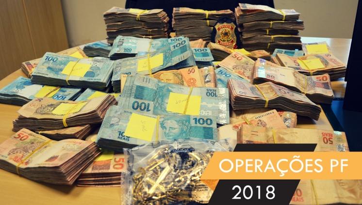 PF apura desvio de recursos públicos e lavagem de dinheiro no RN operação trajana