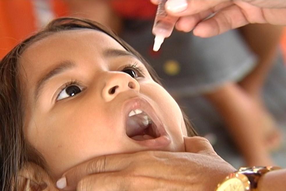Vacina contra poliomielite está disponível nas unidades de saúde de Natal