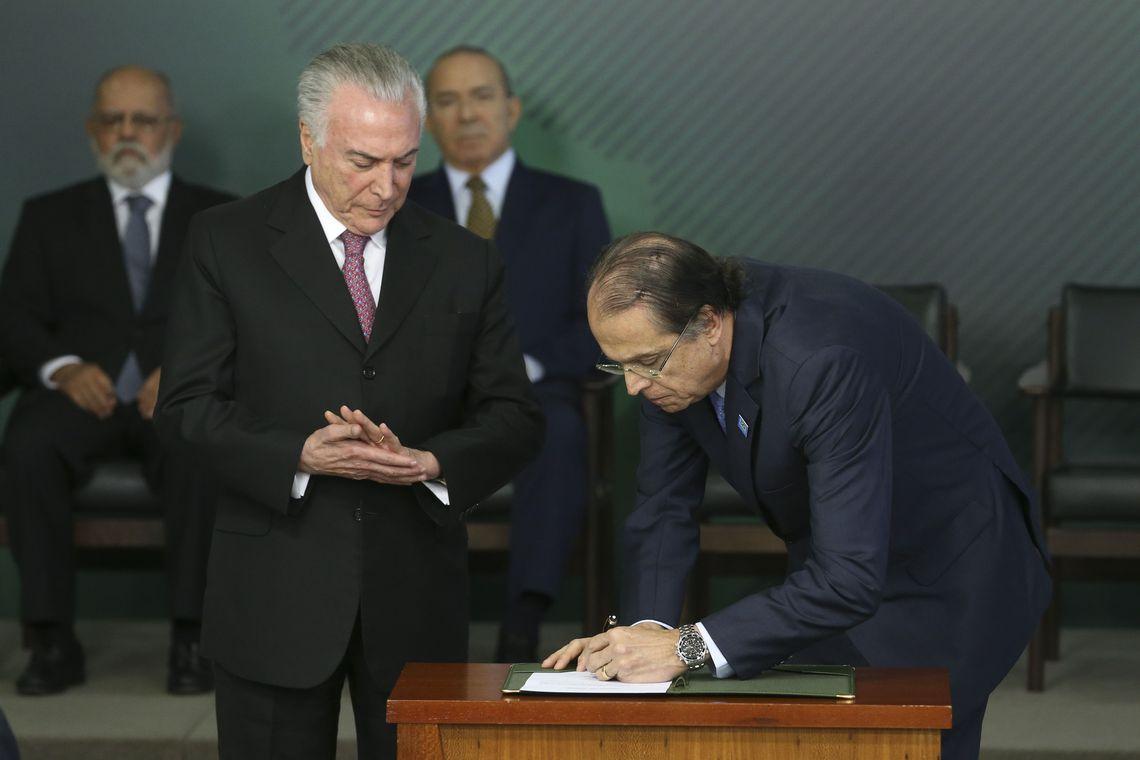 Vieira de Mello e michel temer ministro trabalho