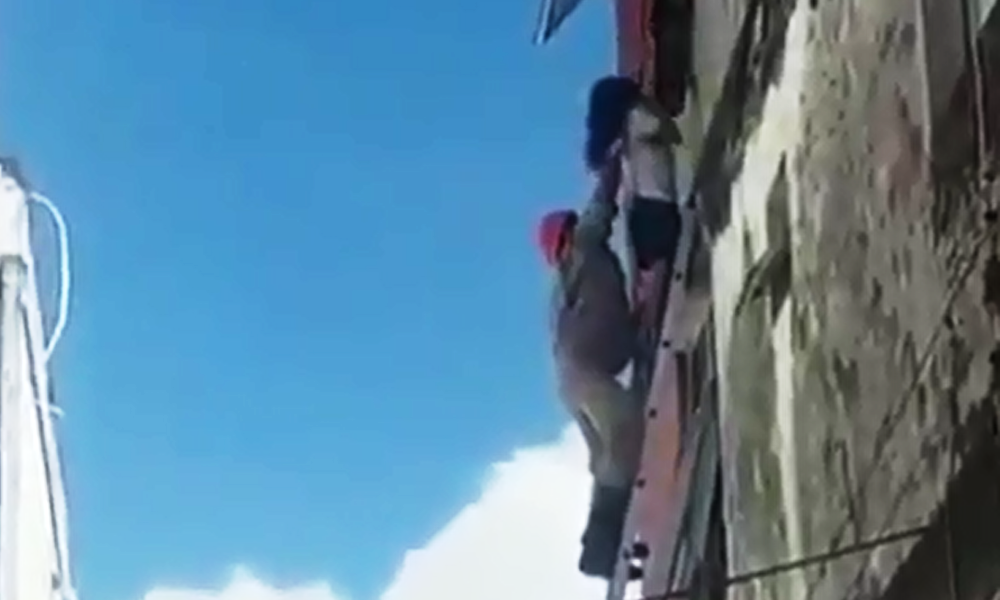 Heroico: bombeiros salvam família de incêndio em Natal