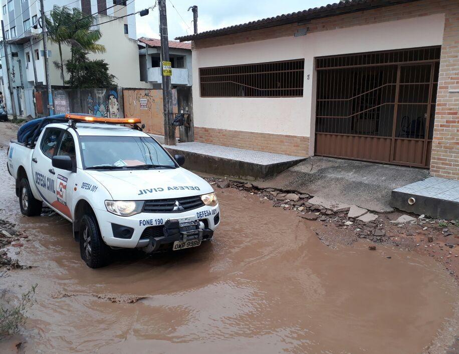 Defesa Civil de Natal fica em alerta com equipes de plantão 24h