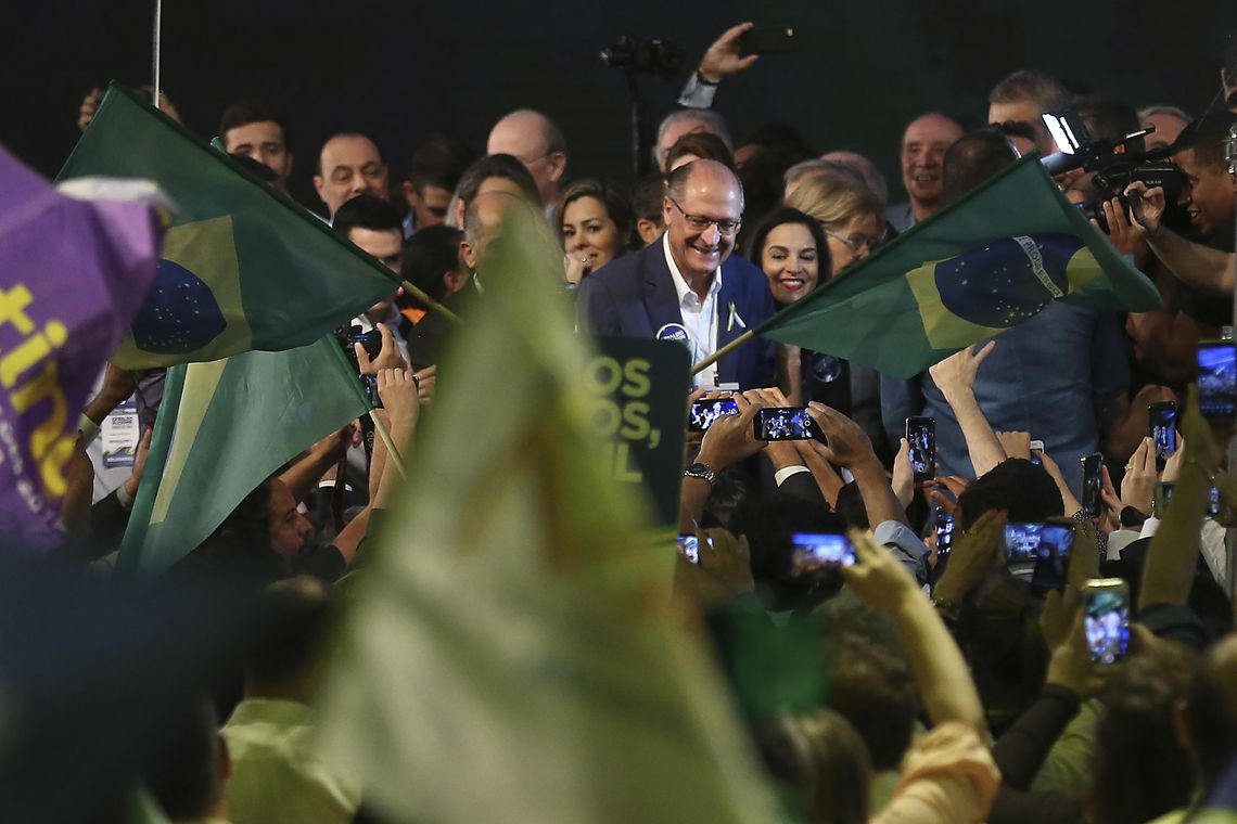 Geraldo Alckmin é oficializado candidato à presidência pelo PSDB