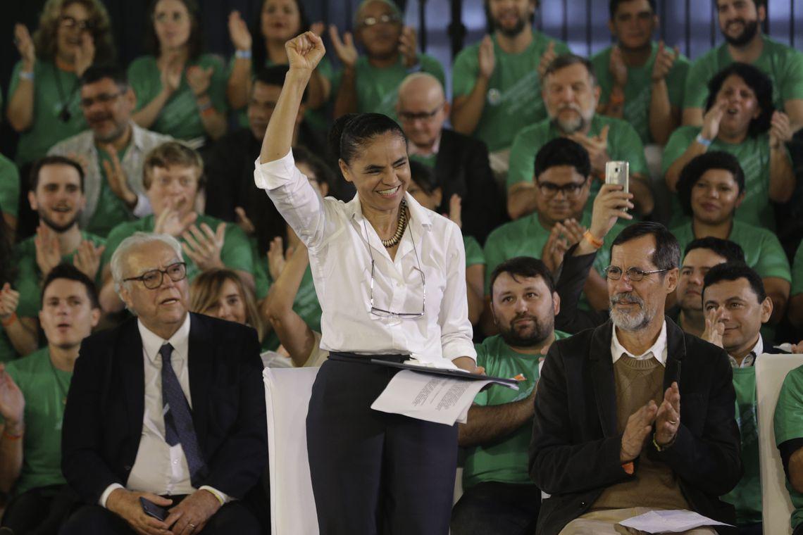 """Marina Silva é a escolha da """"Rede Sustentabilidade"""" como candidata a Presidência"""