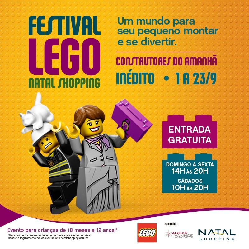 Natal Shopping recebe Festival LEGO