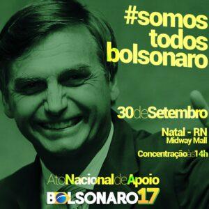 Ato Nacional de Apoio a Bolsonaro