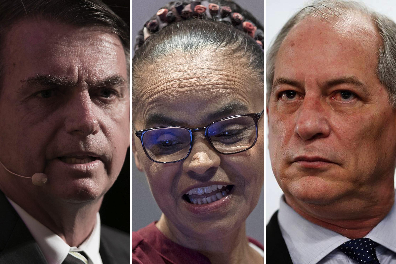 Bolsonaro lidera pesquisa Ibope com 22%; Ciro e Marina aparecem empatados com 12%