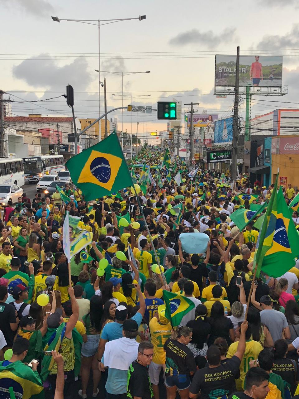 Ato pró-Bolsonaro em Nata l- 21 outubro - Foto Laís Morais (1)