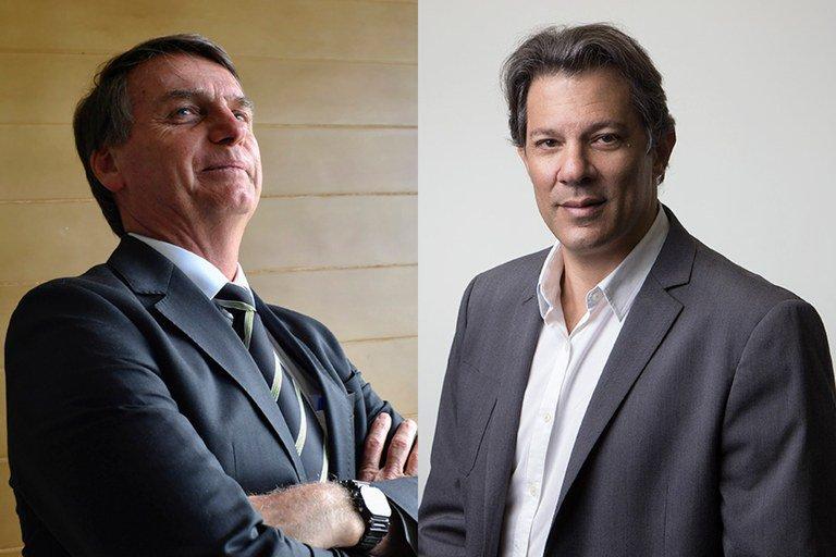 Bolsonaro e Haddad devem se enfrentar em seis debates no 2º turno