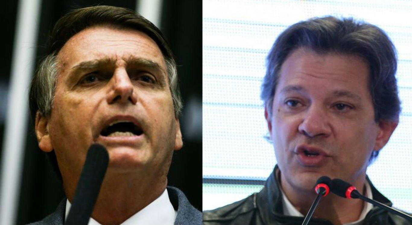 Bolsonaro e Haddad tomam distância de Mourão e Dirceu