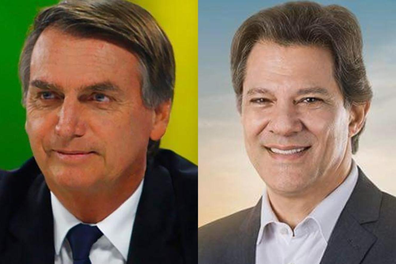 Bolsonaro x Haddad: saiba quais partidos irão apoiar os candidatos no 2º turno