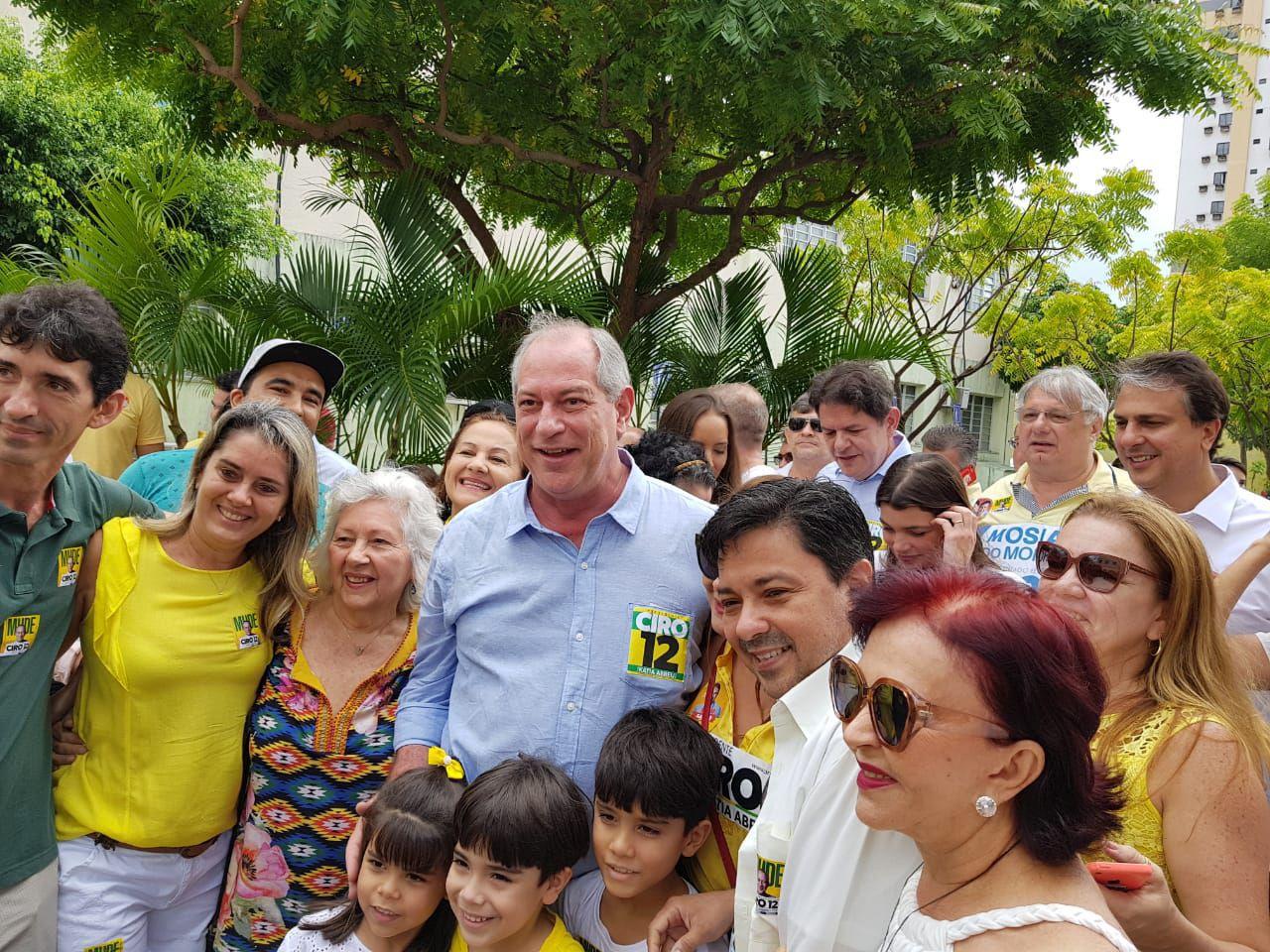 Ciro Gomes sinaliza apoio a Haddad no 2º turno