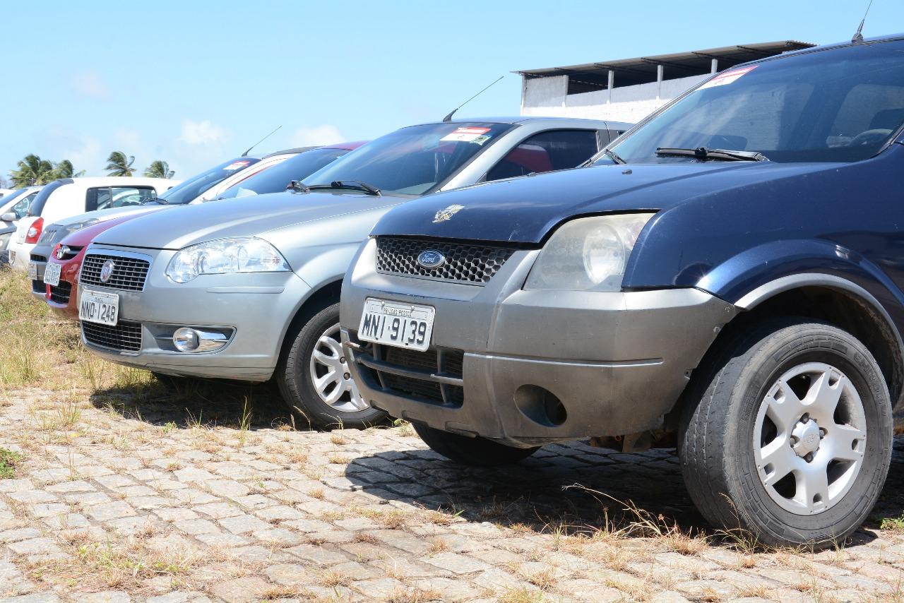 Detran-RN leiloa 280 lotes de veículos na próxima quinta-feira (25)