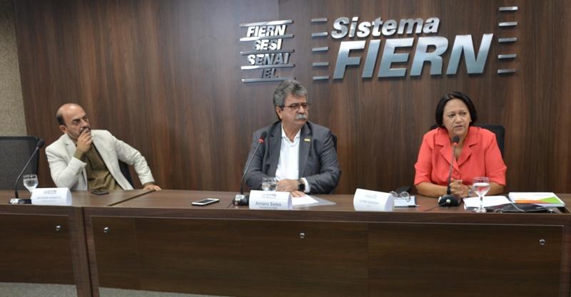 Fátima Bezerra diz que vai garantir diálogo com os setores produtivos