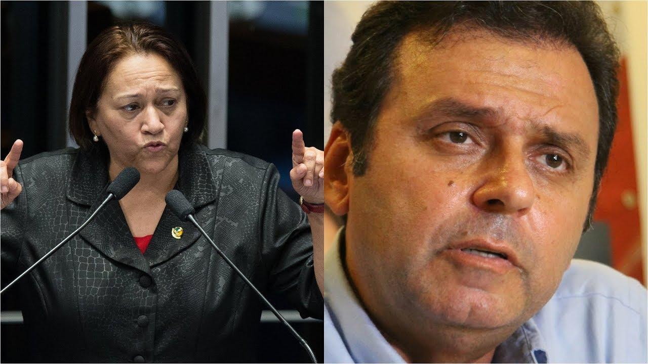 Fátima Bezerra tem 53,5% dos votos válidos e Carlos Eduardo 46,5%, diz pesquisa Fiern/Certus