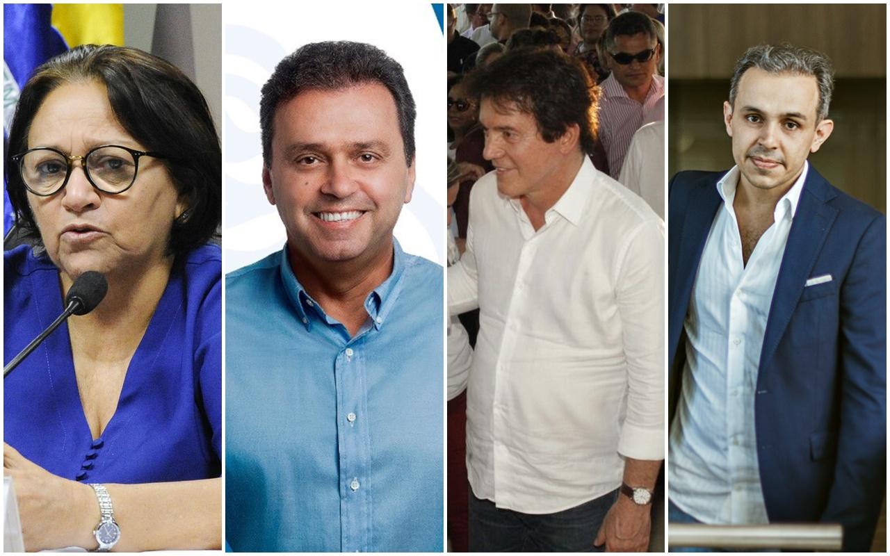 Fátima Bezerra tem 46% dos votos válidos e Carlos Eduardo 33%, diz Fiern/Certus