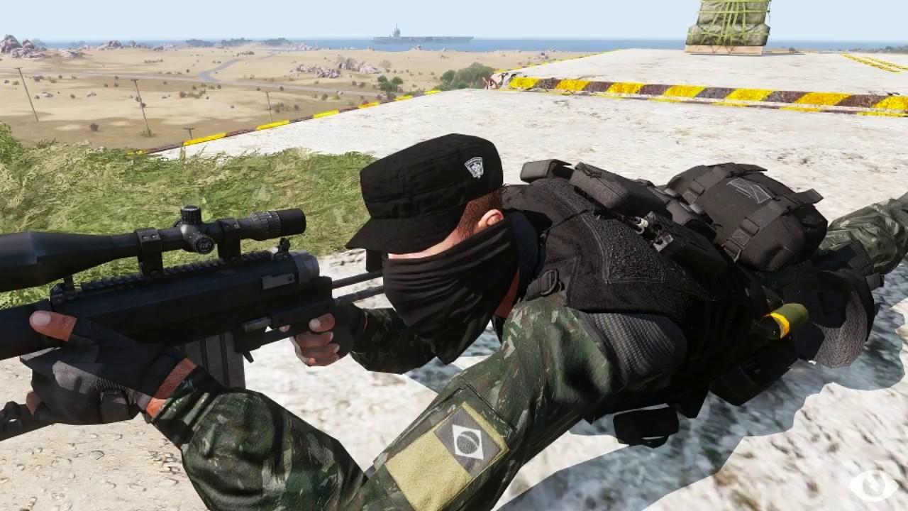 General Heleno defende uso de atiradores de elite contra criminosos