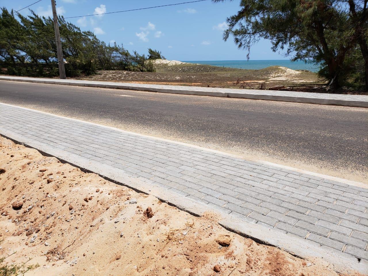 RN 063 obra da estrada que liga Tabatinga à Barreta entra na sua fase final