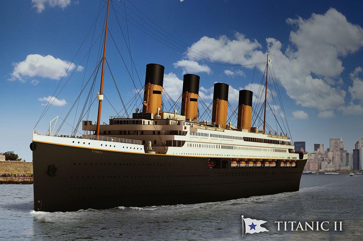 """Réplica do """"Titanic"""" fará mesmo trajeto do navio original"""